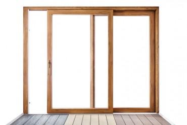 Posuvné dveře na terasu